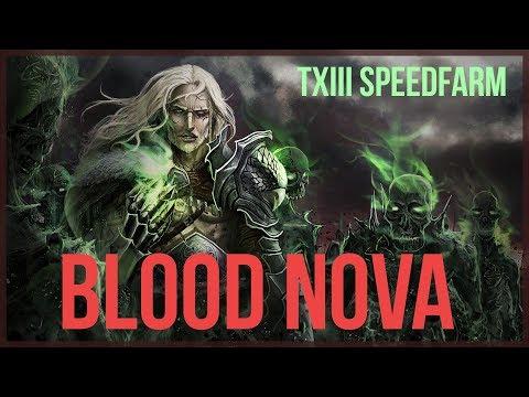 Diablo  Necromancer Blood Nova Speed Build