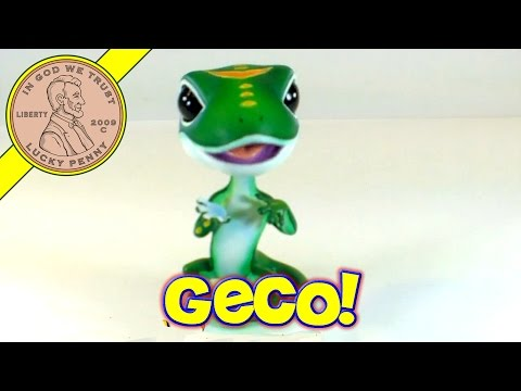 Geico Auto Insurance Stanley The Gecko Bobblehead