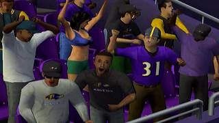 JAMAL LEWIS TAKE OVER - ESPN NFL 2K5 BILL FRANCHISE VS RAVENS