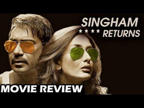 Singham Returns Movie Review   Ajay Devgan, Kareena kapoor   Bollywood Movies 2014  