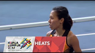 Athletics Women's 100m Semi - Final 2   29th SEA Games 2017