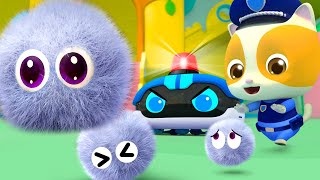 Пыль и роботы-пылесосы | Новый сборник детских песенок | Песни для малышей | BabyBus