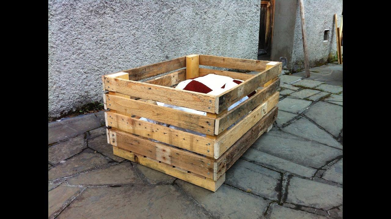 Faire Un Composteur Avec Des Palettes Fabriquer Ce Modle De Table  ~ Comment Fabriquer Un Coffre En Bois