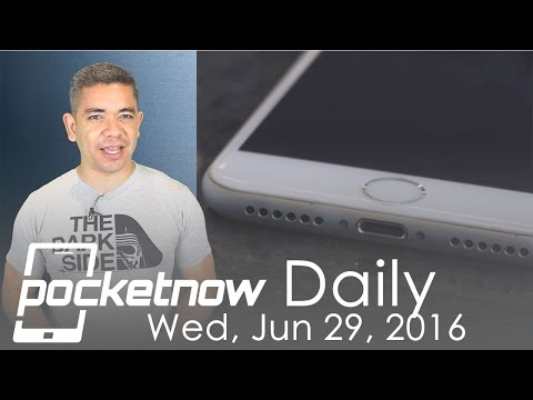 iPhone 7 Force-Touch Home button, Galaxy Note 7 battery & more - Pocketnow Daily