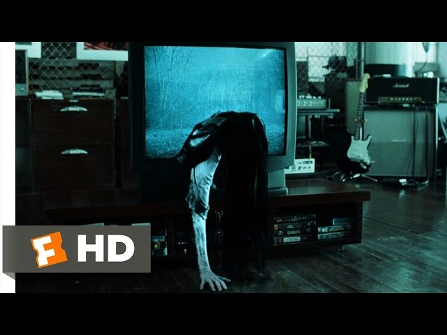Samara Comes to You - The Ring 88 Movie CLIP 2002 HD