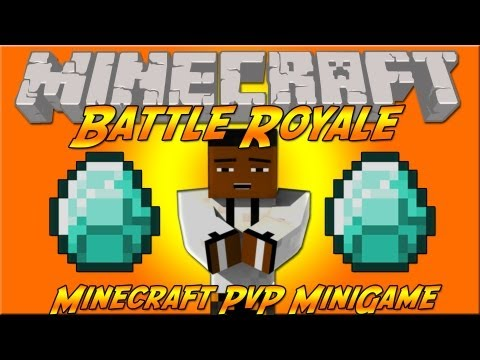 Minecraft: Battle Royale PvP MiniGame - Made By The Hutt!