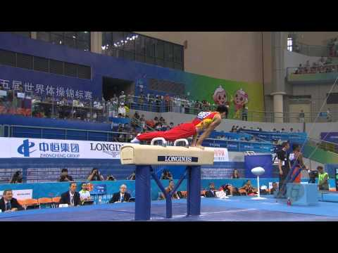 YOU Hao (CHN) – 2014 Artistic Worlds, Nanning (CHN) - Qualifications Pommel Horse