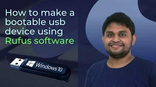 How to make a bootable usb device using Rufus software