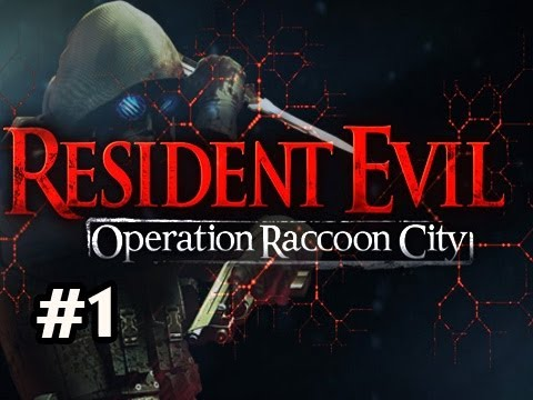 Resident Evil Operation Raccoon City Walkthrough w/SSoH & Sp00n Co-Op Ep.1 - Vectorized