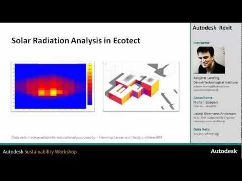 Solar Radiation Analysis in Ecotect