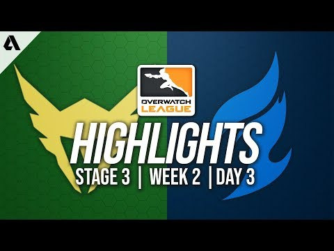Los Angeles Valiant vs Dallas Fuel | Overwatch League Highlights OWL Stage 3 Week 2 Day 3