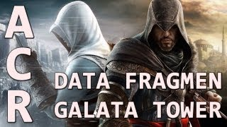 Assassins Creed Revelations - Animus Data Fragment at Galata Tower