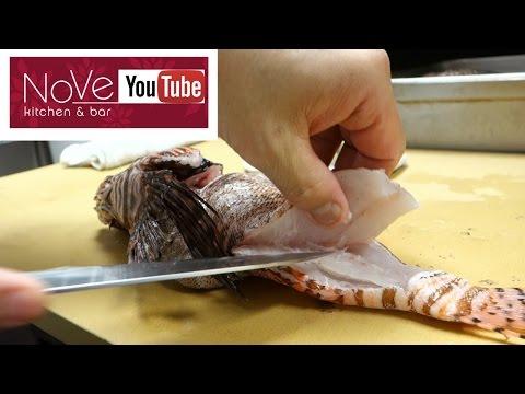 VENOMOUS Lionfish Sashimi - How To Make Sushi Series