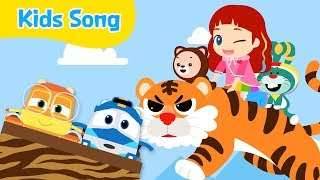Goblin Pants | Kids songs | LittleTooni songs with Robot Trains