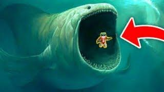WORLD'S GREATEST SHARK THE MEGALODON FOLLOWS LIVE AT MINECRAFT!