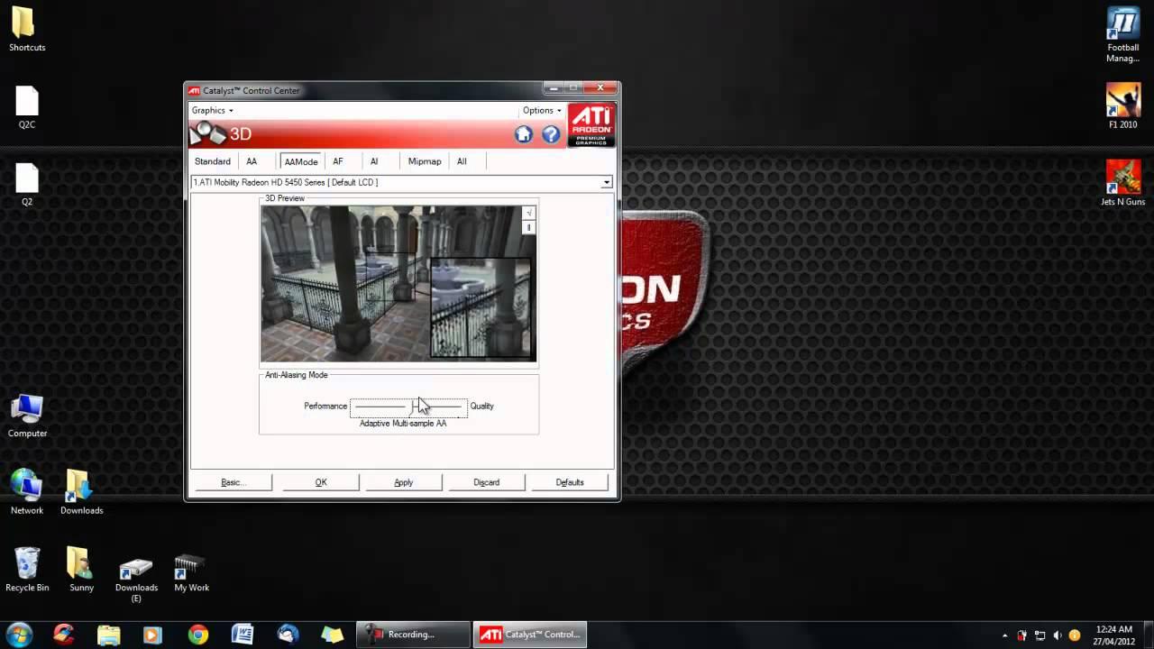 Как сделать откат драйвера видеокарты amd radeon