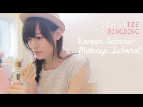 Sisterize DingDing - Stylenanda韓國夏日韓妝化妝分享 Korean Summer Makeup Tutorial Share
