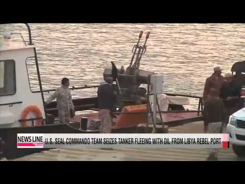 U.S. navy seizes North Korea-flagged tanker carrying oil from Libya rebel port