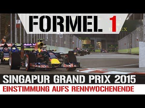 Formel 1 Singapur Grand Prix 2015 - Einstimmung aufs Rennwochenende