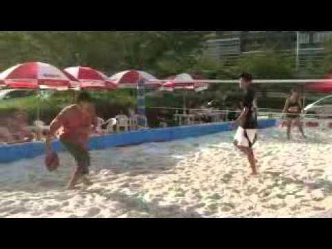 MOVIE | 楽天ジャパンオープンテニスでビーチテニス!