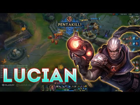 Lucian Montage #5 - Combo skill with Lucian - League of Legends