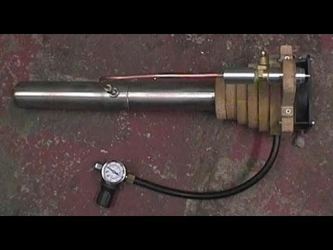 How to build an oil siphon furnace burner step by step