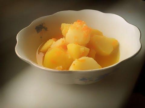 В Пост, Картошка по-домашнему, Тушеная картошка
