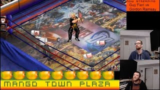 Guy Fieri vs Gordon Ramsay - Fire Pro Wrestling World Ep. 29