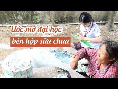 Nữ sinh nghèo tách vỏ hộp sữa chua nuôi ước mơ vào đại học   báo thanh niên