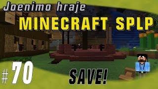 Joe´s Minecraft LP | #70 Jaký design pro mobtrapku a SAVE! | CZ HD