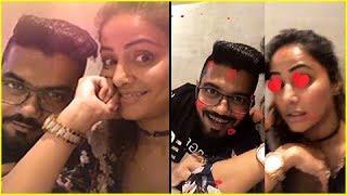 Hina Khan & Boyfriend Rocky's LOVE MOMENTS Captured On Camera