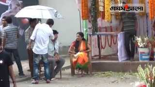 Sotta Movie Shooting Shakib Khan And Paoli Dam