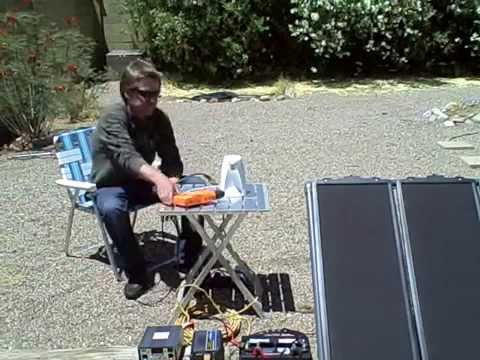 Solar Power System DIY (run almost anything for free) PV solar panel kit