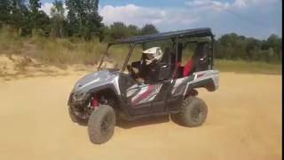 2018 Yamaha Wolverine X4 customer demos & Review