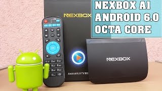 NEXBOX A1 Tv Box Android 6.0 octa core  Español