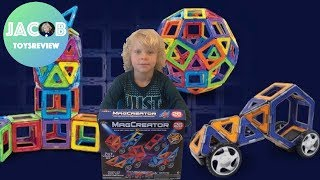 Building Cars from MagCreator with JacobToyReview