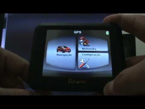 IGO8 INSTALADO NO GPS DYNAMIC 3.5 POLEGADAS.