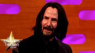Keanu Reeves Trained As A Ballroom Dancer | The Graham Norton Show