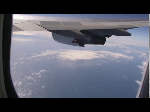 Sobrevoando o Oceano Pacífico