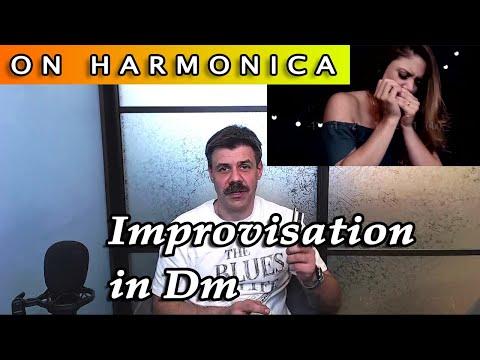 Импровизация в Dm (Indiara Sfair cover)
