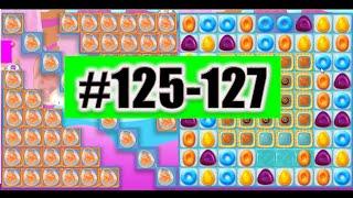 Candy Crush Jelly Saga Level 125-126-127 Done!