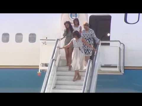 Michelle Obama llega a España con la mejor compañía