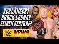 Verlängert Brock Lesnar Seinen Vertrag Infos Zum Frauen Royal Rumble Match WWE NEWS 2 2018 mp3