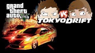 GTA 5 - Deluxe Vs. Deluxe Ep. 16 (Tokyo Drift)