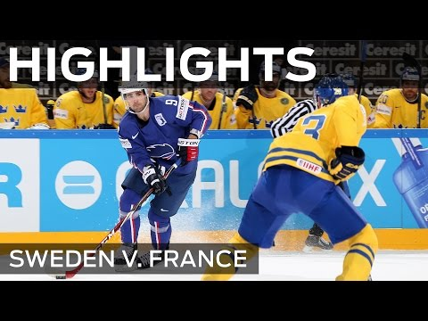 Sweden leave France on the edge | #IIHFWorlds 2015