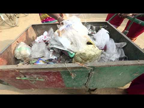 Paving way with plastic waste