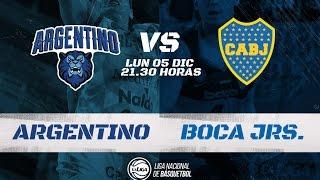 Liga Nacional: Argentino vs Boca   LaLigaEnTyC