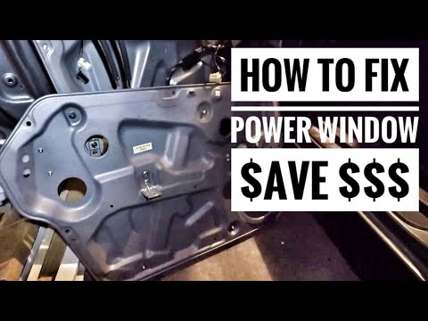 Fixing broken power windows on your car