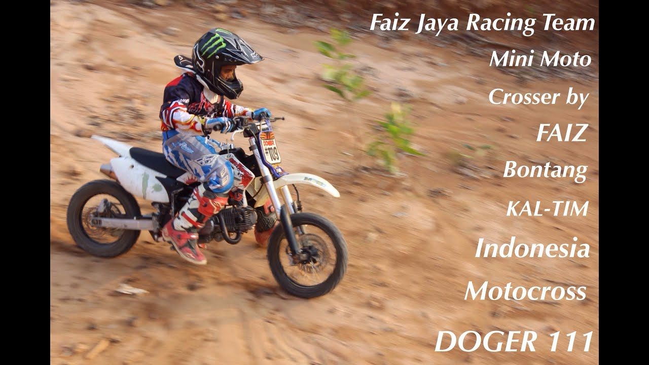 mini motocross by faiz bontang kaltim youtube. Black Bedroom Furniture Sets. Home Design Ideas