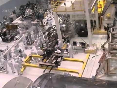Time-lapse: James Webb Space Telescope Pathfinder
